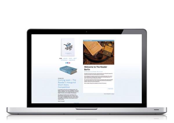 The Reader Berlin - Website