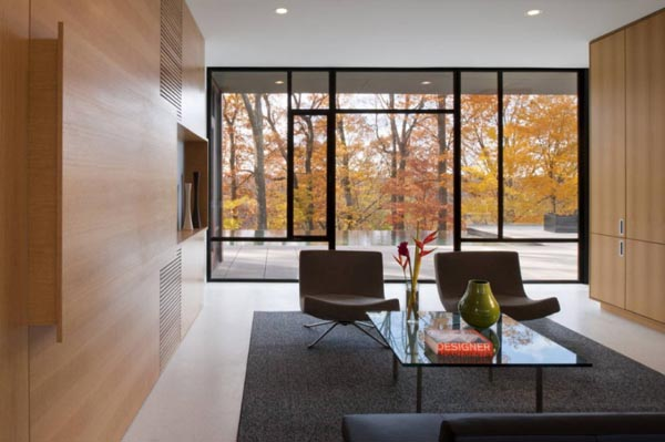 Modern architecture by robert m gurney architect - Pavillon residentiel moderne gurney architecte ...