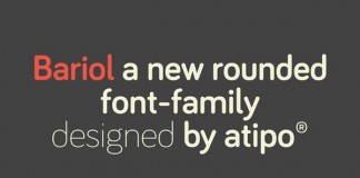 bariol free rounded font