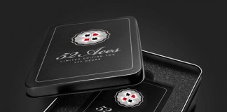 illustrated poker set - box