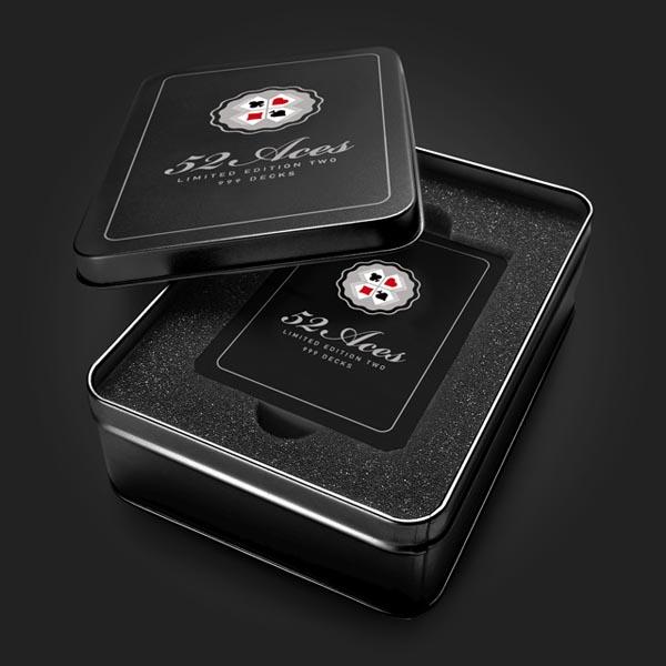 52 Aces - Illustrated Poker Set - Box by zeixs publishing
