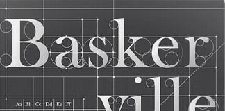 Baskerville - Typography Poster Design