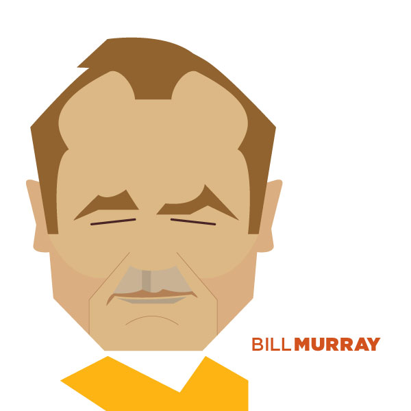Bill Murray - Portrait Illustration by Jag Nagra
