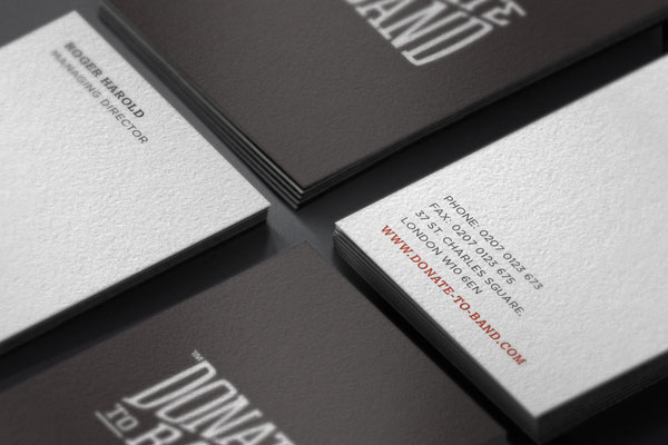 Donate to Band - Brand Identity  by Agency Higher