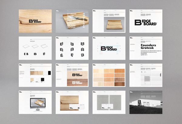 Edgeboard Corporate Identity by MAUD Design