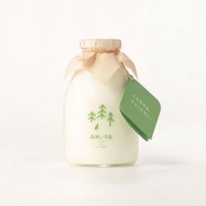 Forest Milk - Packaging Design