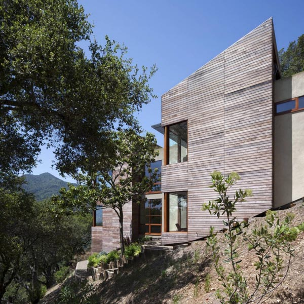 Hillside Residence by Turnbull Griffin Haesloop Architects