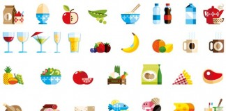 Icons and Badges for Foodzy by Loulou and Tummie