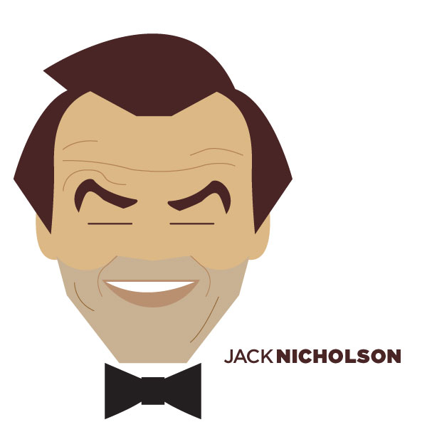 Jack Nicholson - Portrait Illustration by Jag Nagra