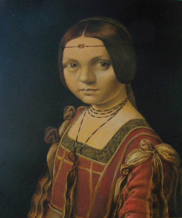 Kasia Slowianska Painting - DaVinci