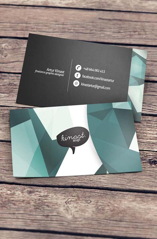 Creative Business Cards by Kinast Design