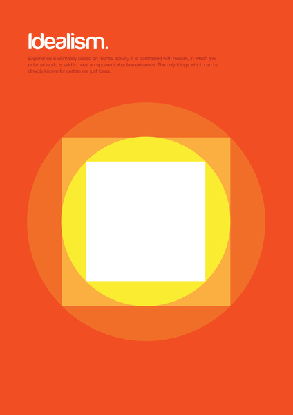 Minimal Philosophy Posters by Genis Carreras