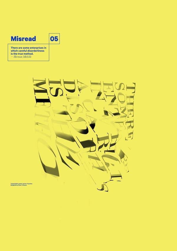 Misread - Typography Prints