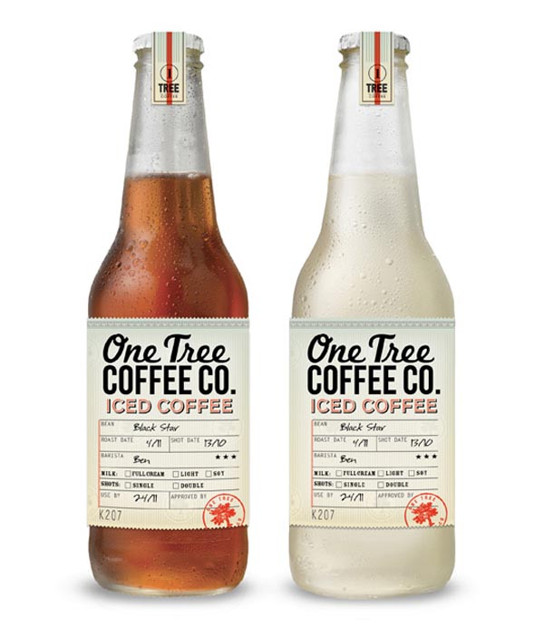 One Tree Coffee Co - Package Design