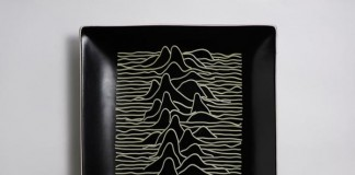 Pasta homage by Brock Davis to the Joy Division cover by Peter Saville
