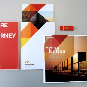 QR National - Identity Design by Cornwell