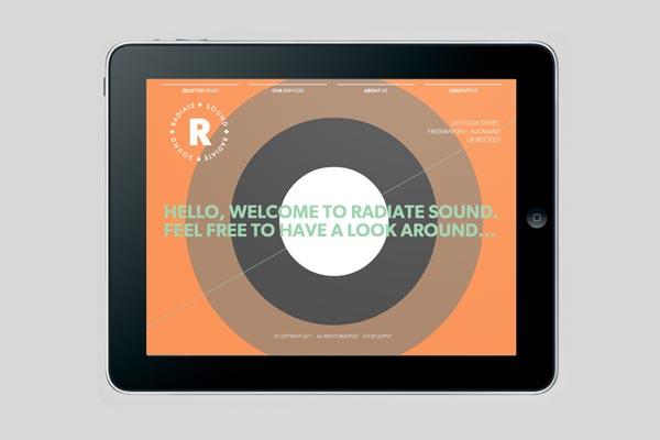 Radiate Sound - Website