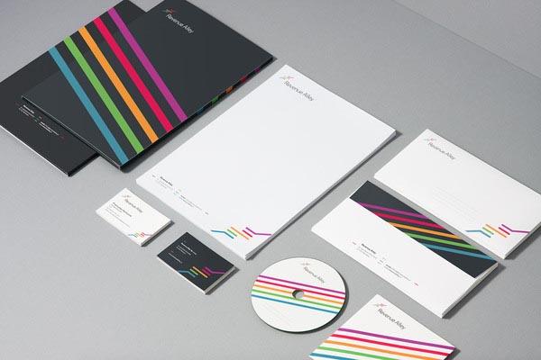 Revenue Alley - Corporate Identity - Print Design