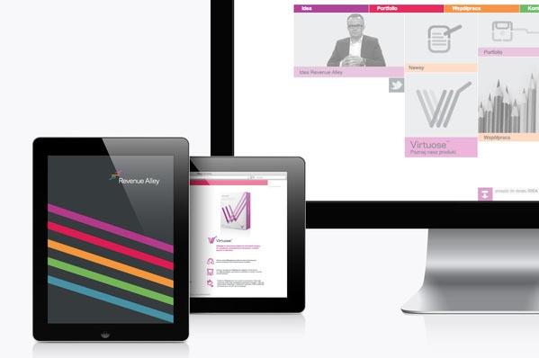 Revenue Alley - Corporate Identity - Screen Design