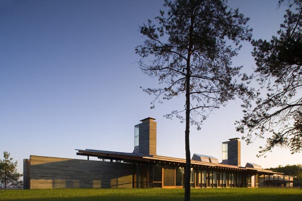 Modern Architecture Ridge House By Bohlin Cywinski Jackson