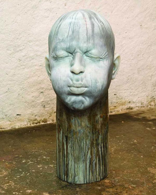 Samuel Salcedo - Head Sculptures