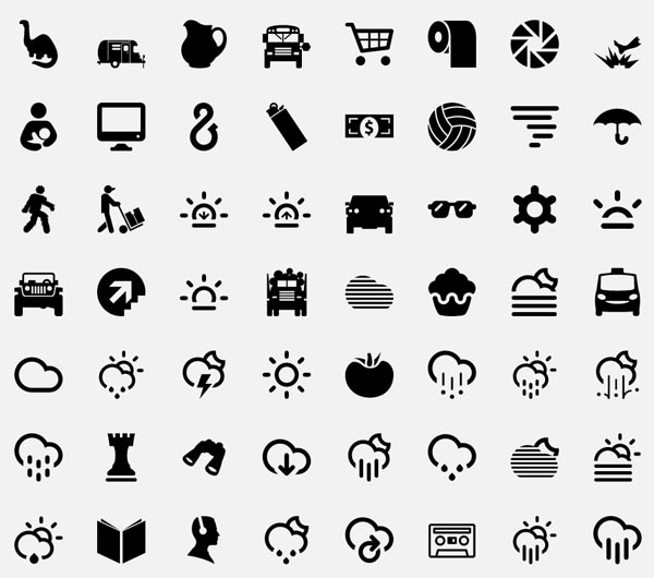 The Noun Project - Symbols