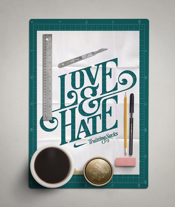 Typography Design by Mats Ottdal