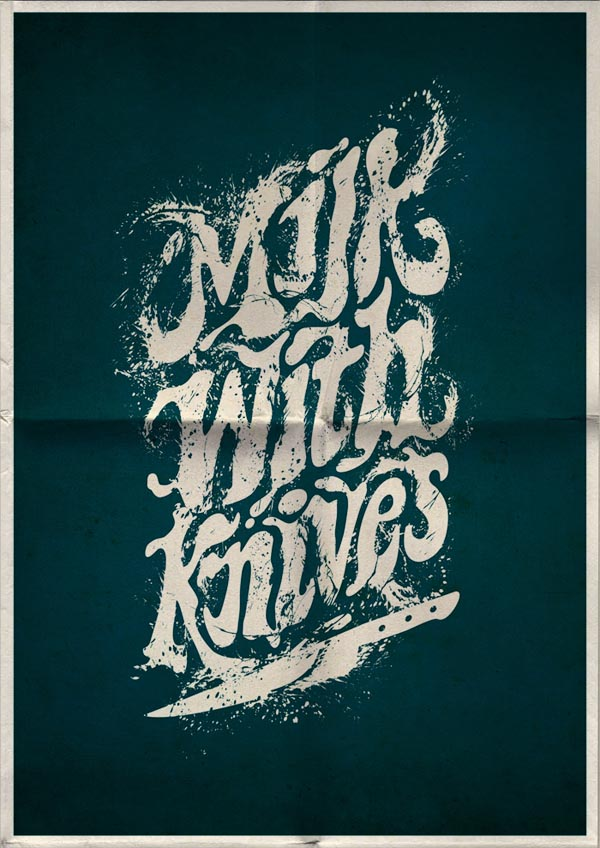 Typography Poster Design by Mats Ottdal