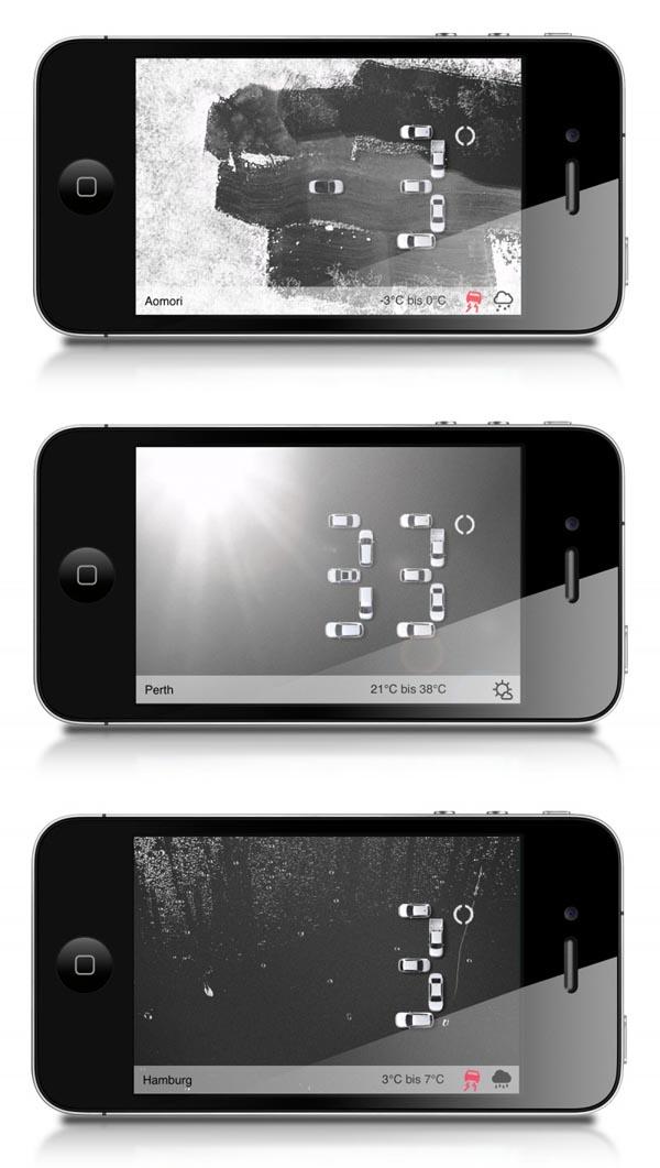 volkswagen screensaver and iphone appgobasil