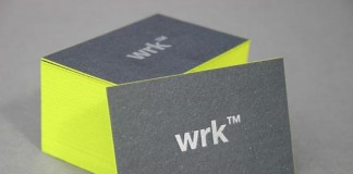 WRK™ - Business Card