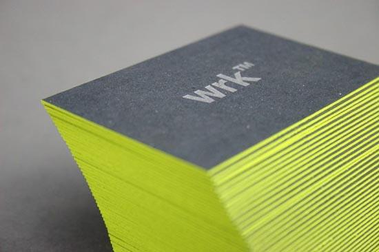 WRK™ - Business Card