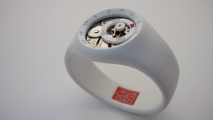 Timepiece product design geocentric for Designed product
