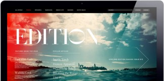 Web Design by Girlfriend for Edition Hotels