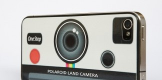 Polaroid iPhone Decal
