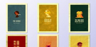 Alfred Hitchock Posters