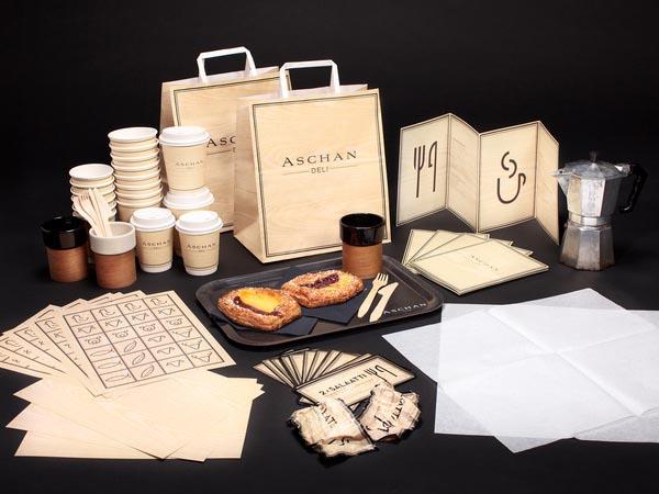 Aschan Deli - Branding and Packaging