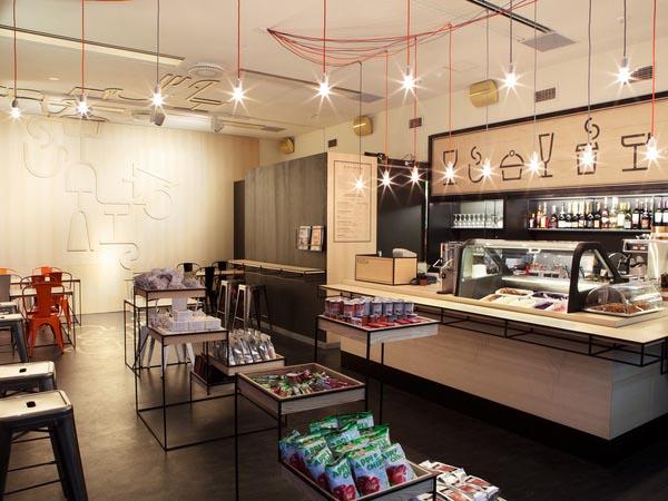 Aschan Deli - Branding - Interior