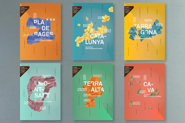 branding and graphic design catalan wines project
