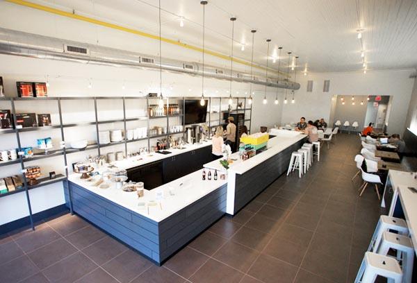 Cafe Evoke - Interior