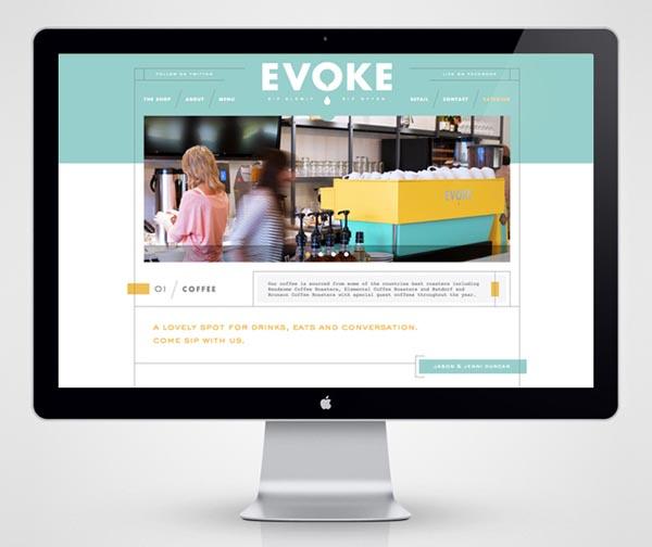 Cafe Evoke - Website
