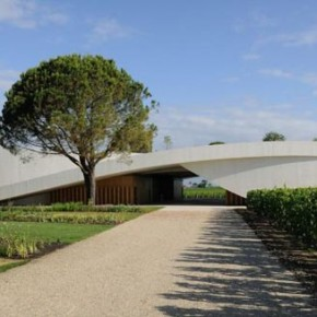 Modern Architecture - Chateau Cheval Blanc Winery