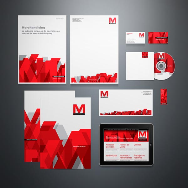 Corporate Identity System for Pop Merchandising