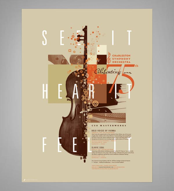 Graphic Design Examples by J Fletcher Design