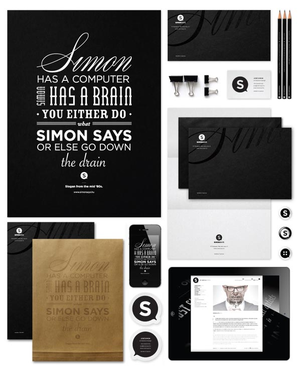 José Simon - Corporate Identity
