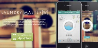 Laundry Master App Design for iOS