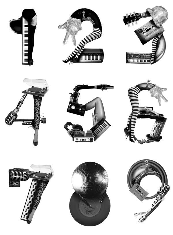 Identity Design For People Love Music By Bureau Bruneau