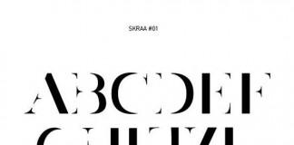 SKRAA#01 / Font