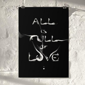 Typographic Prints by Artist Von