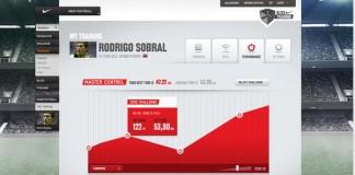 Web Design - Nike Football+