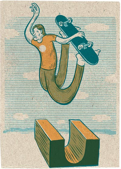 Air Time - Illustration by Evan Hughes